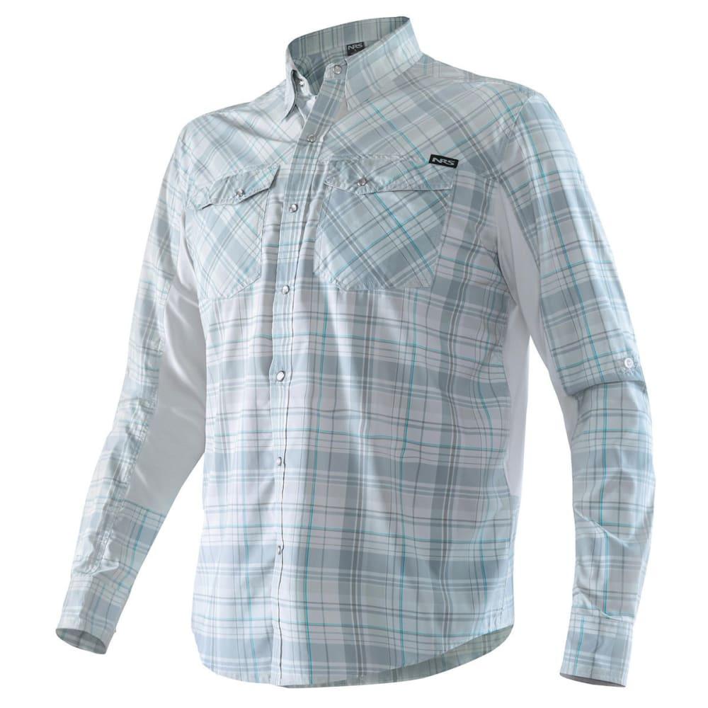 NRS Men's Guide Long-Sleeve Shirt - GRAY