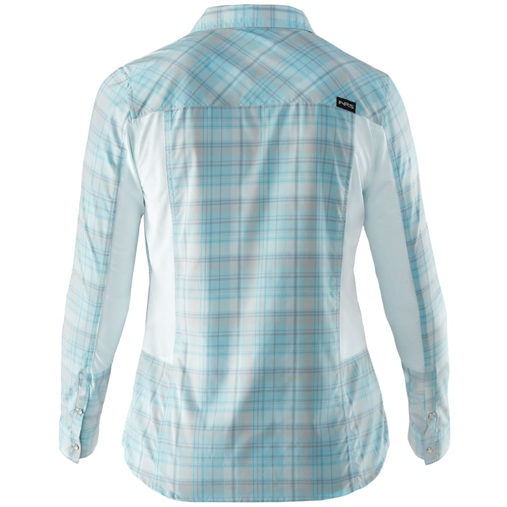 NRS Women's Guide Long-Sleeve Shirt - PALE BLUE