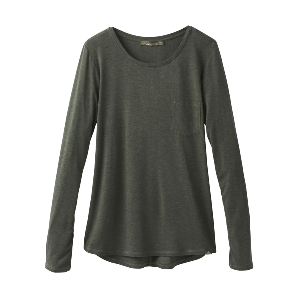 PRANA Women's Foundation Long-Sleeve Crew Neck Top XS