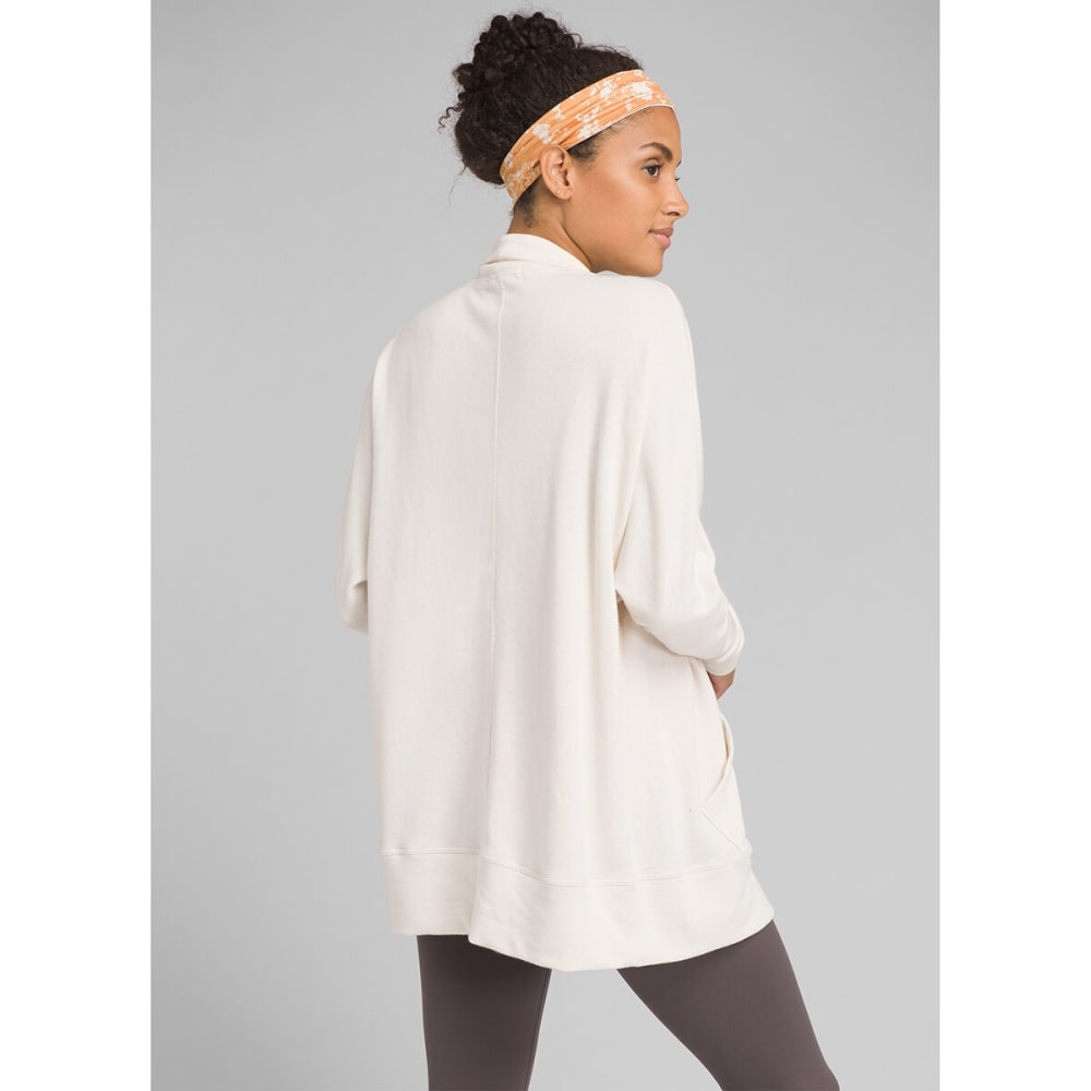 PRANA Women's Centerpiece Wrap Cardigan - MOONLIGHT