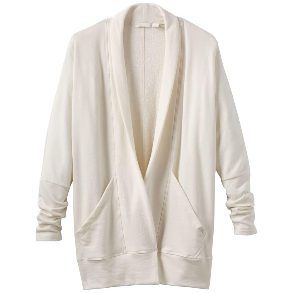 PRANA Women's Centerpiece Wrap Cardigan - MOONLIGHT