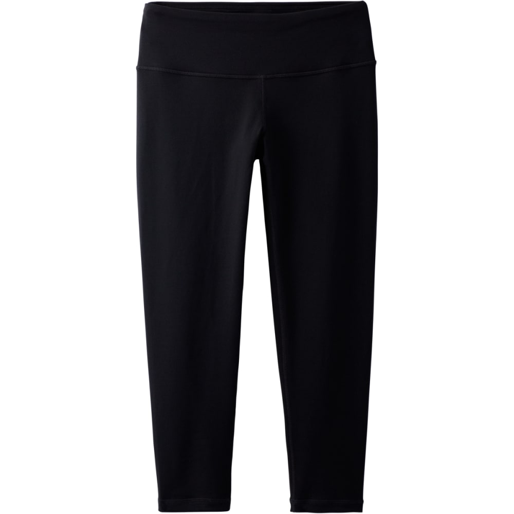 PRANA Women's Pillar Capri - BLACK