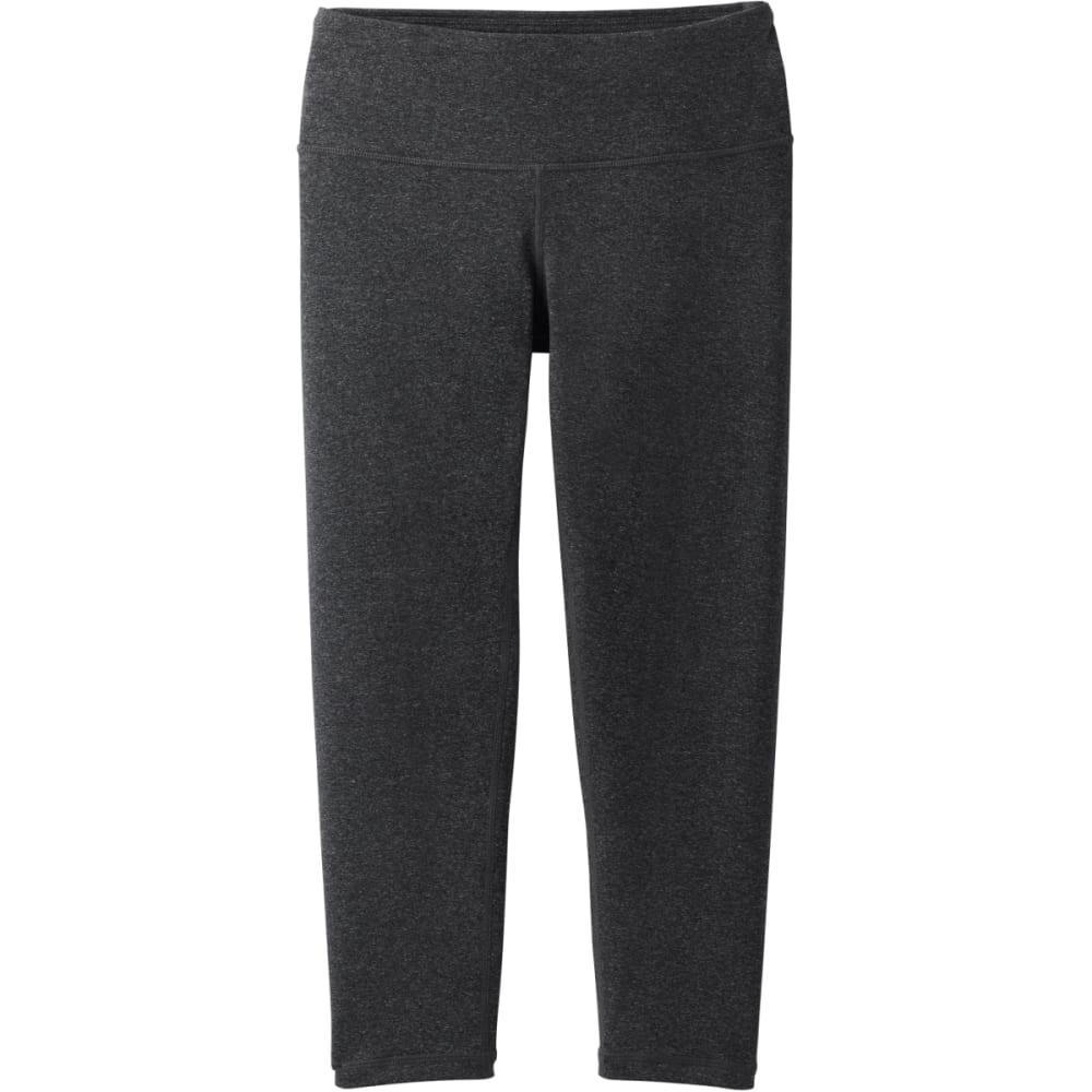 PRANA Women's Pillar Capri - CHARCOAL HEATHER