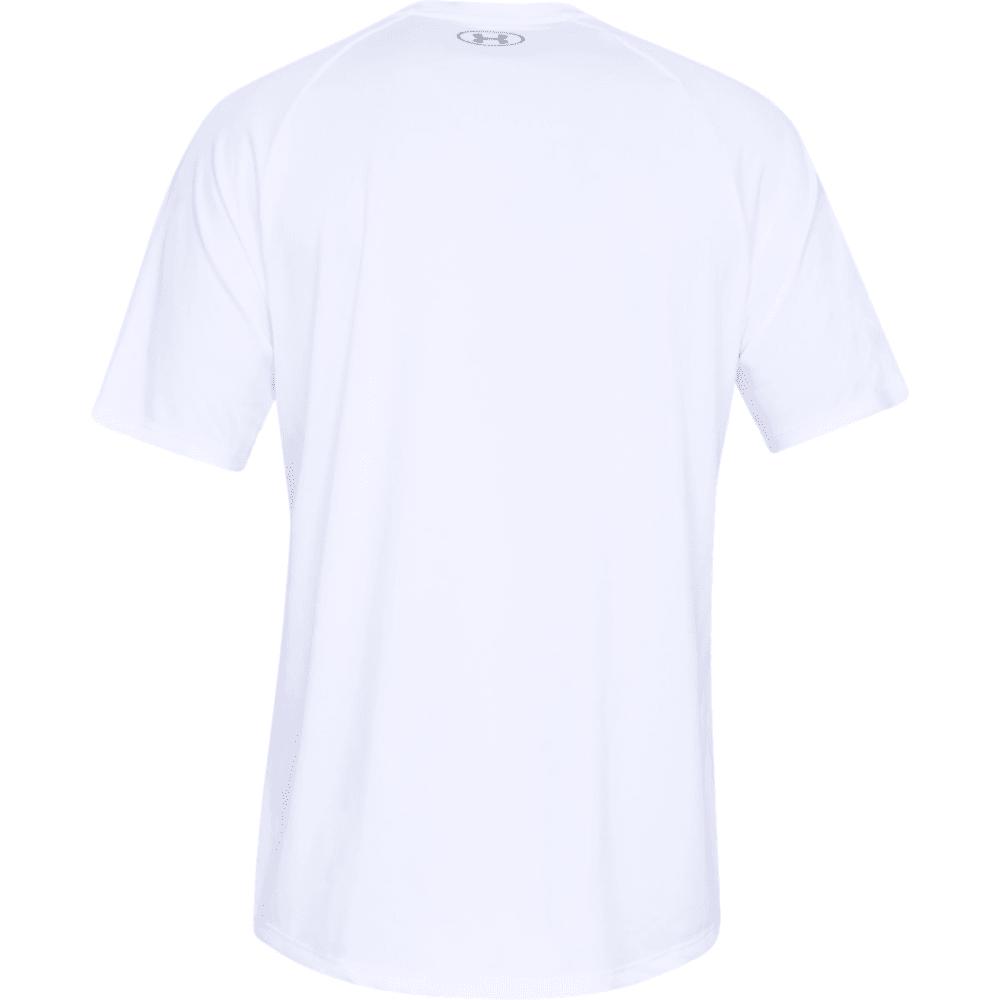 UNDER ARMOUR Men's UA Tech Short-Sleeve Tee - WHITE-100