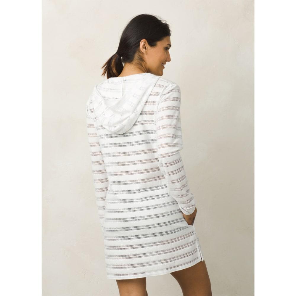 PRANA Women's Alexia Tunic Top - White Crochet