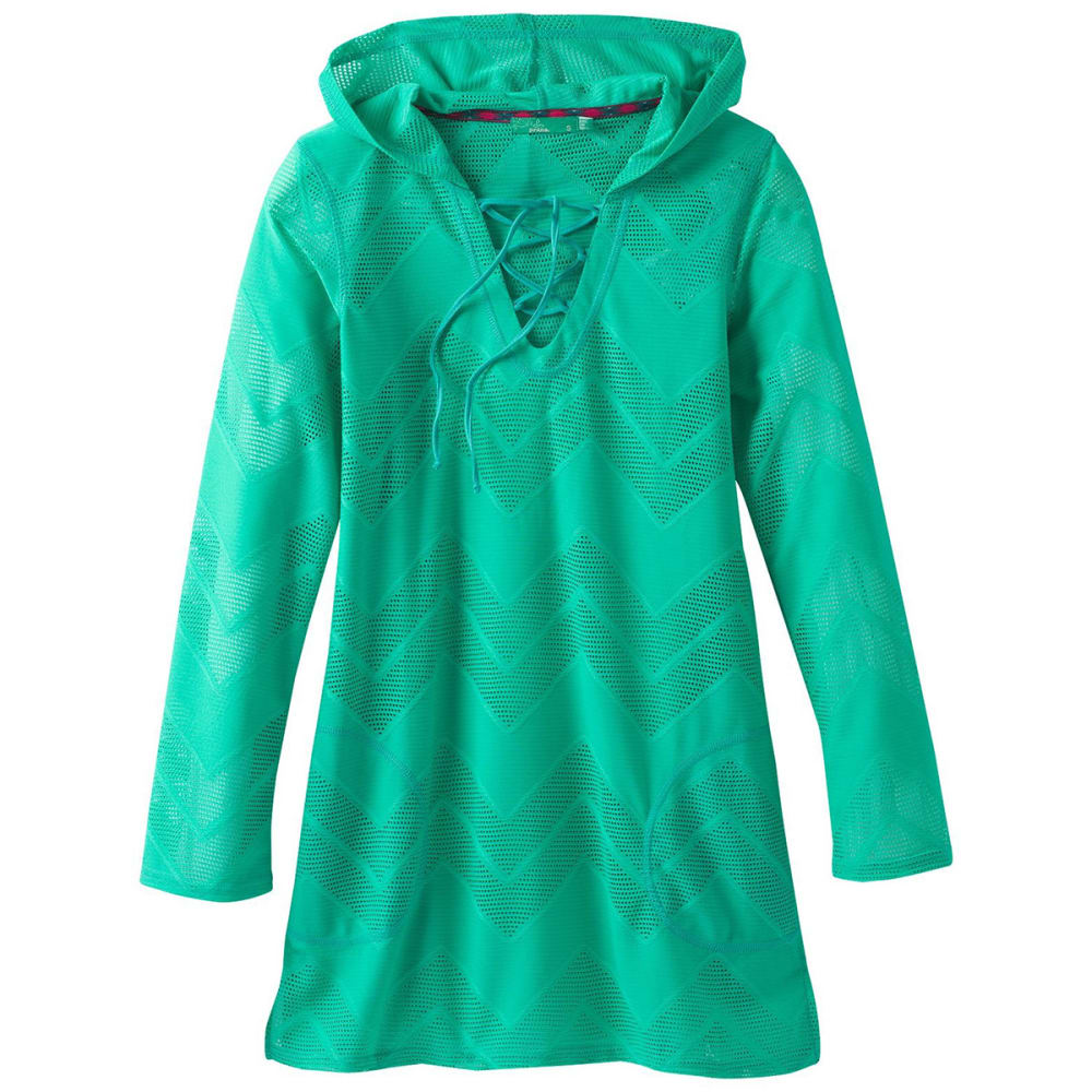 PRANA Women's Alexia Tunic Top - Aqua Wave