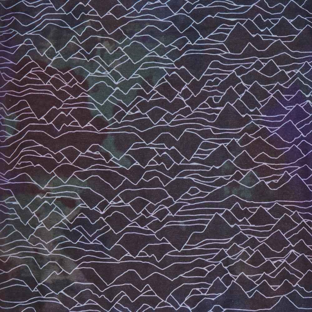EMS Ink Splatter Mountains Multiclava - BLACK