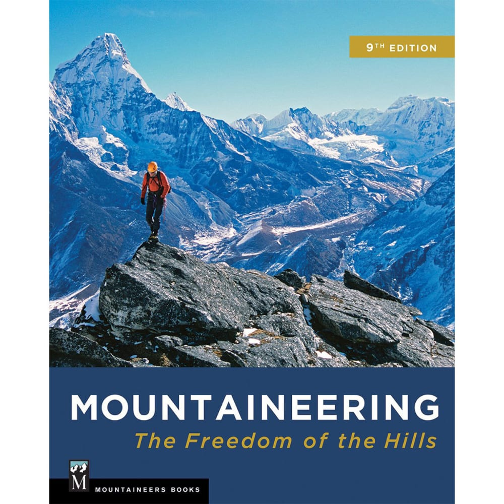 MOUNTAINEERING BOOKS Mountaineering: Freedom of the Hills, 9th Edition - NO COLOR