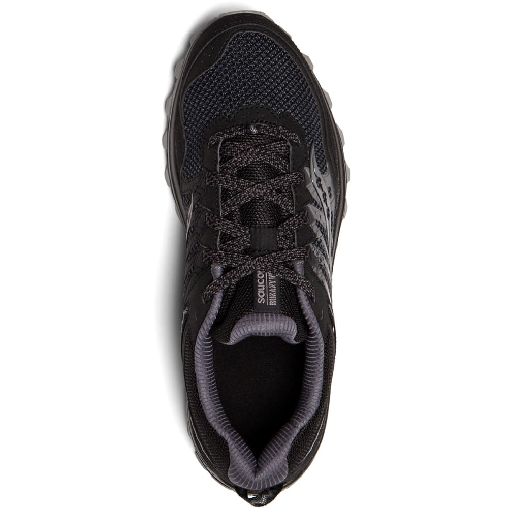 SAUCONY Men's Grid Excursion TR12 Trail Running Shoes, Wide - BLACK - 2
