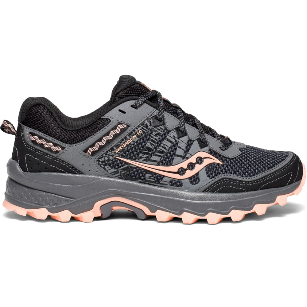 SAUCONY Women's Grid Excursion TR12 Trail Running Shoes, Wide 6