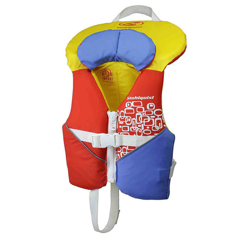 STOHLQUIST Infant PFD - ORANGE/YELLOW