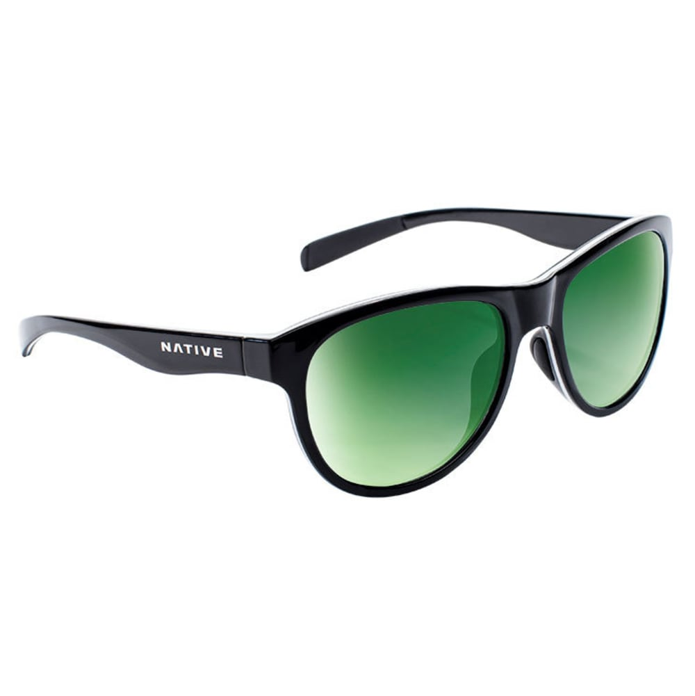 NATIVE EYEWEAR Acadia Sunglasses - MATTE BLACK/GRAY