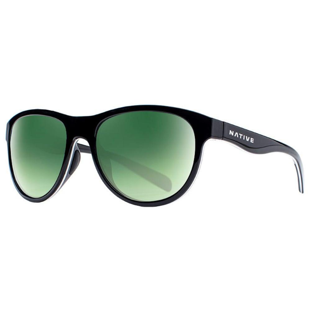 NATIVE EYEWEAR Acadia Sunglasses - MATTE BLACK/GRAY