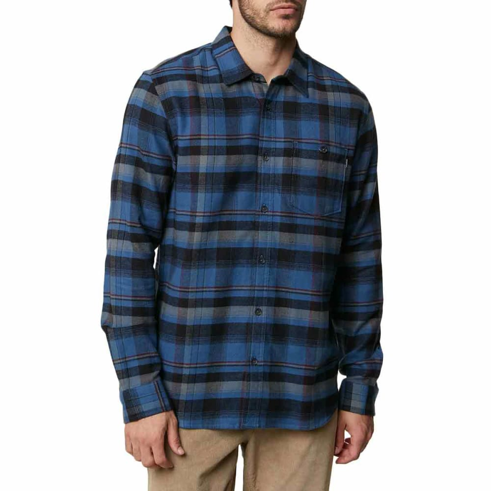 O'NEILL Guys' Redmond Long-Sleeve Flannel Shirt S