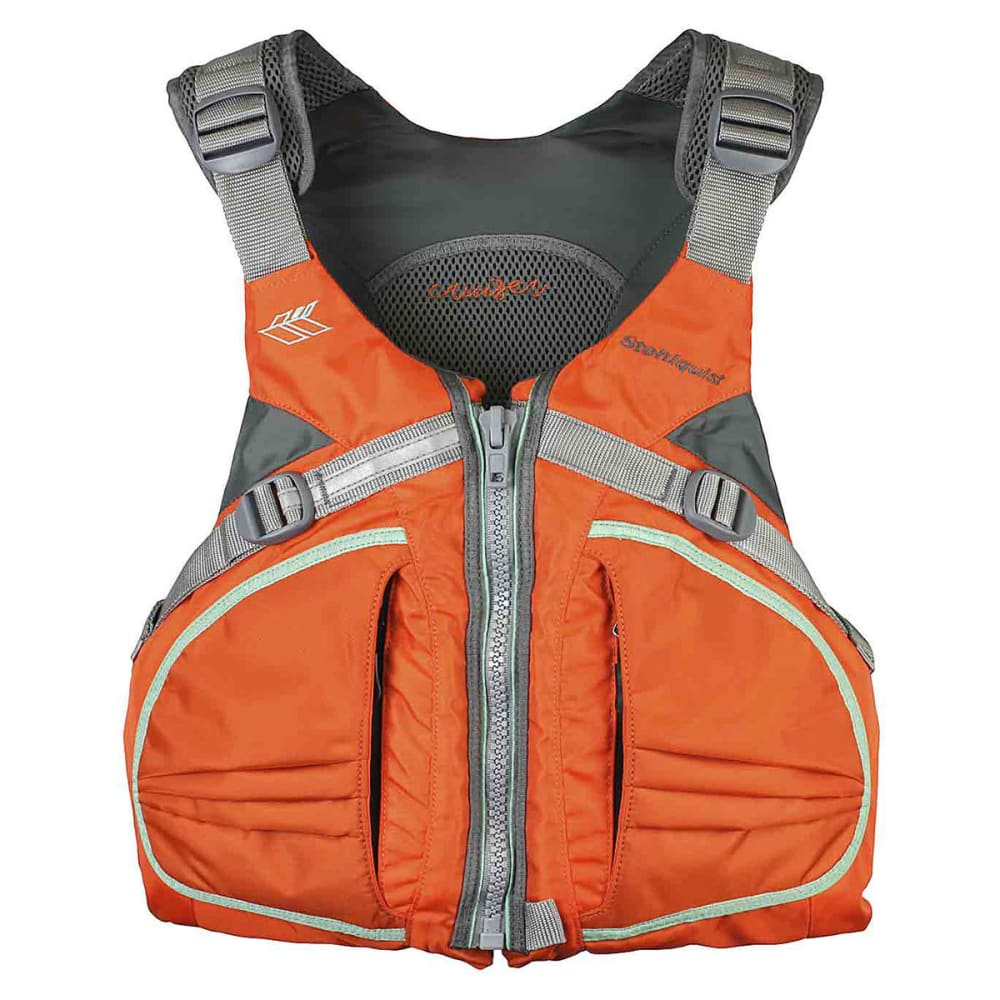 STOHLQUIST Women's Cruiser Life Vest - ORANGE