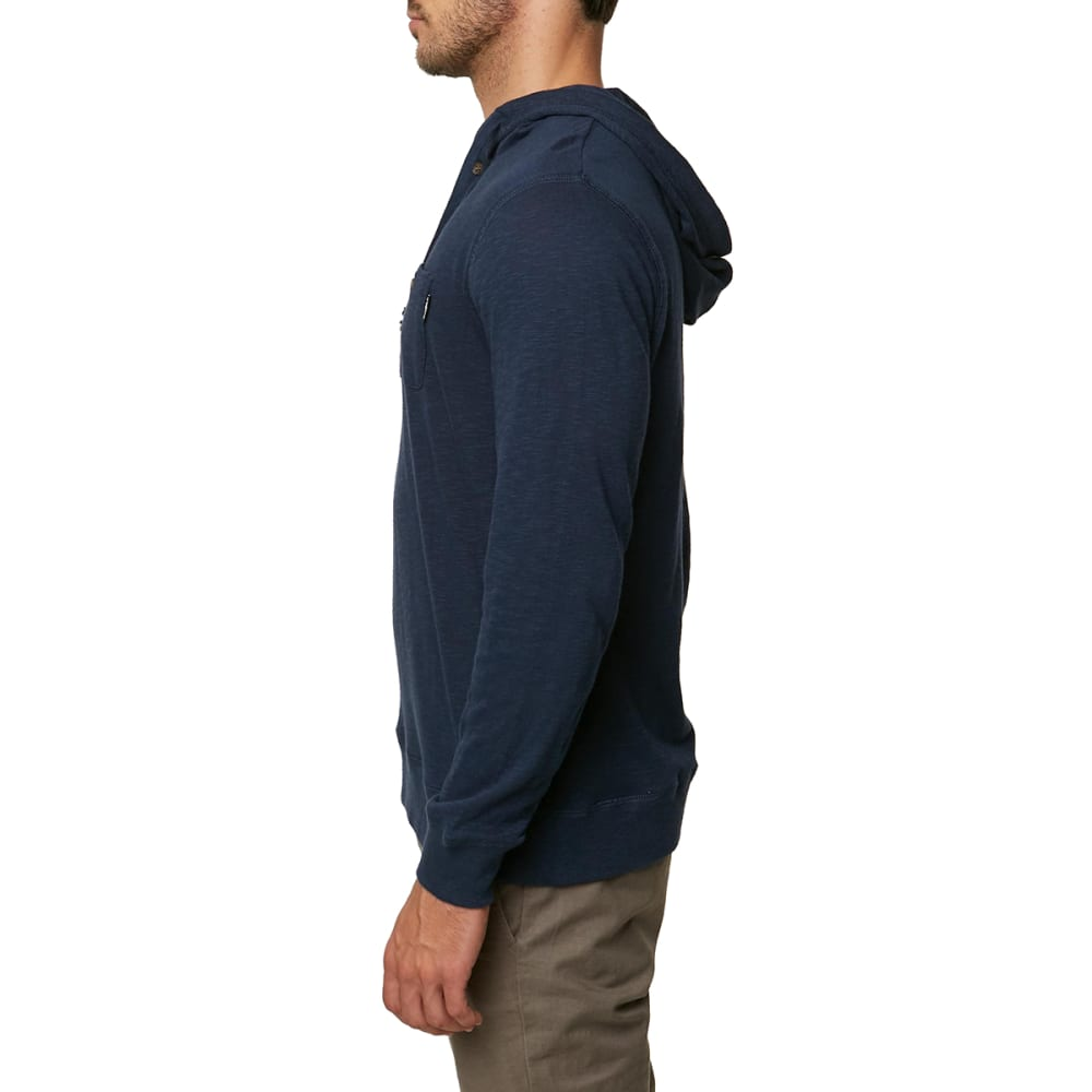 O'NEILL Guys' Stinson Henley Pullover Hoodie - NAVY-NVY