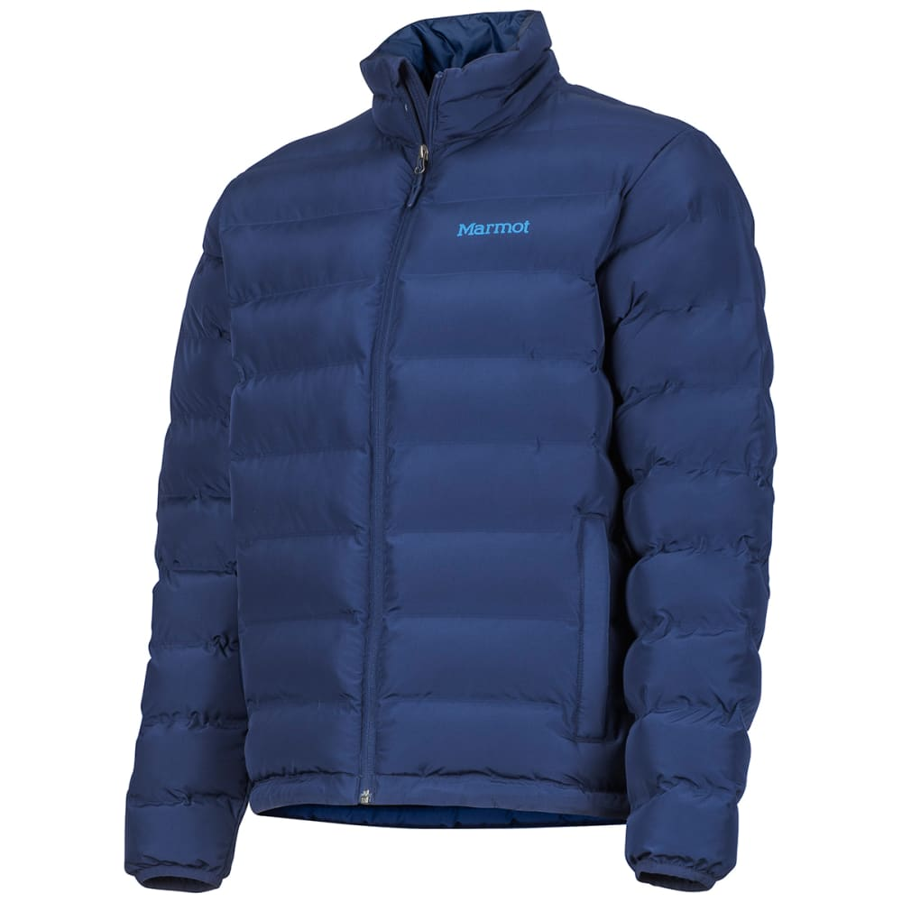 MARMOT Men's Alassian Featherless Jacket - 2975-ARTIC NAVY