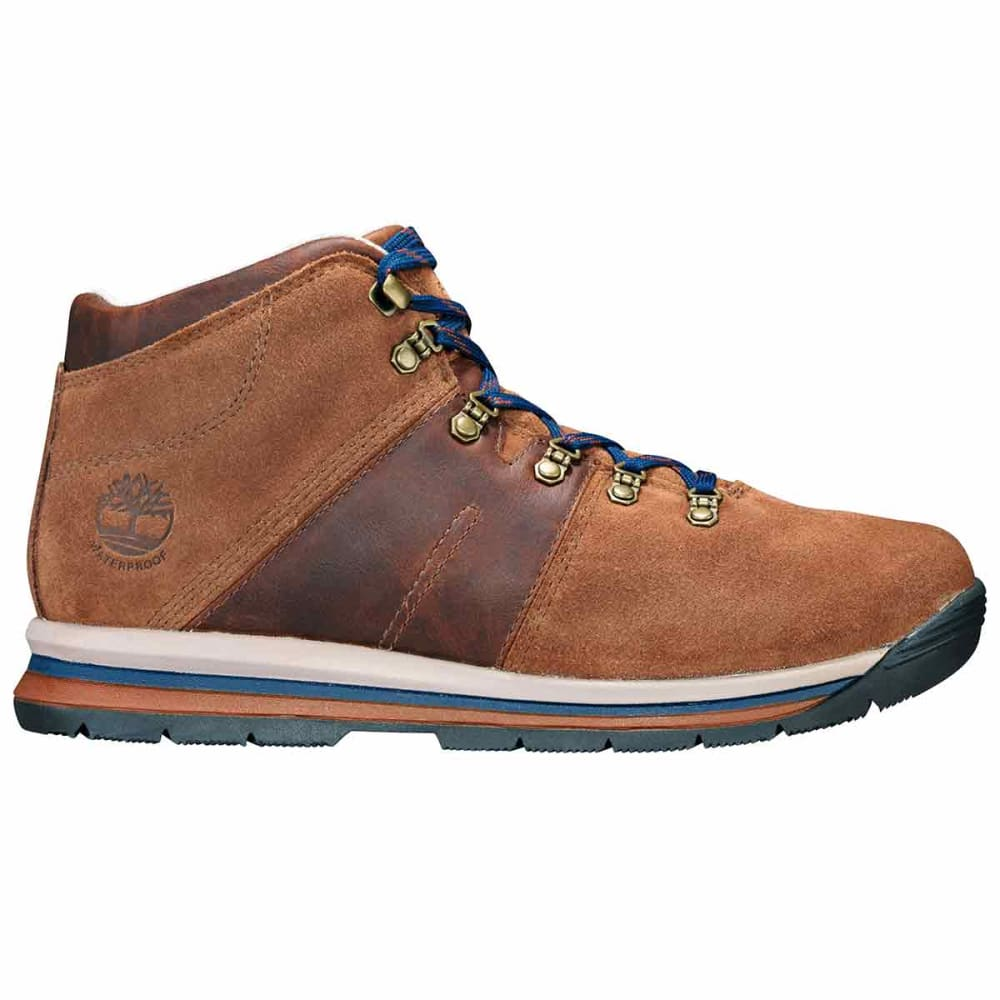 TIMBERLAND Men's GT Rally Mid Waterproof Hiking Boots - MEDIUM BROWN
