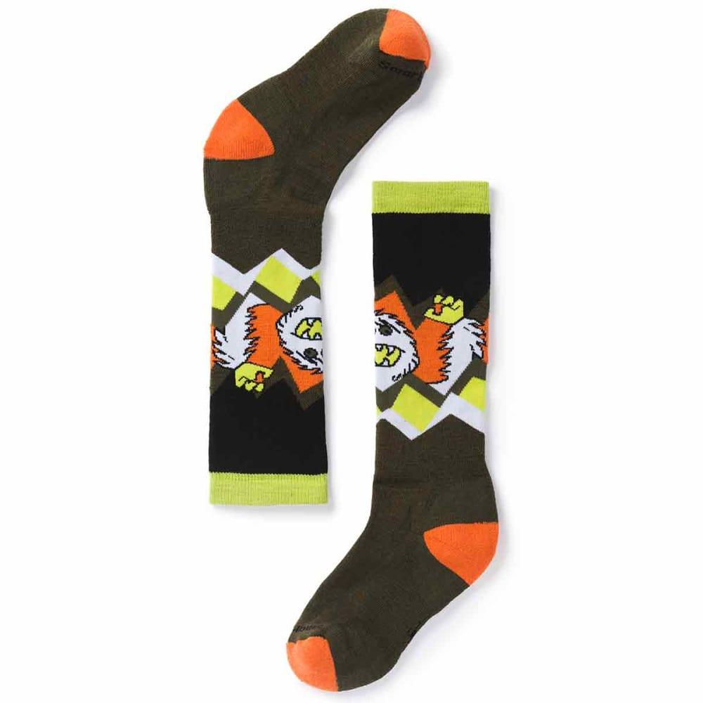 SMARTWOOL Boys' Wintersport Yeti Socks - 031-LODEN