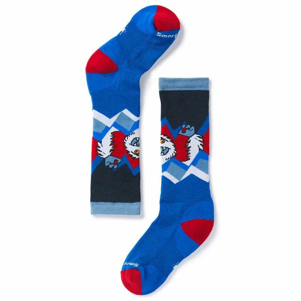 SMARTWOOL Boys' Wintersport Yeti Socks - 378-BRIGHT BLUE