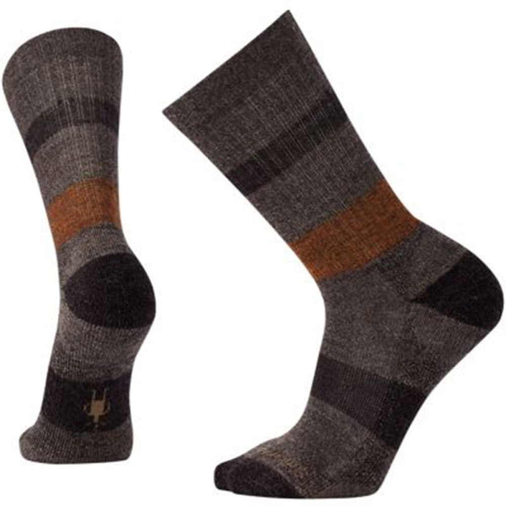 SMARTWOOL Men's Barnsley Crew Socks - 178-CHESTNUT HEATHER