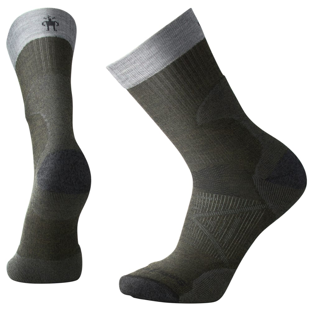 SMARTWOOL Men's PhD Pro Light Crew Socks - 031-LODEN