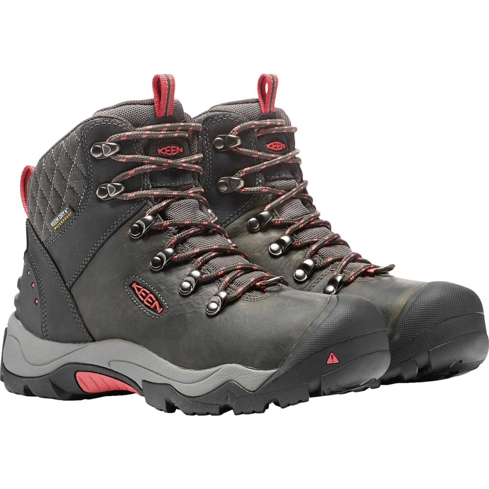 ... KEEN Women  39 s Revel III Waterproof Insulated Mid Hiking Boots -  BLACK  ... afd810322
