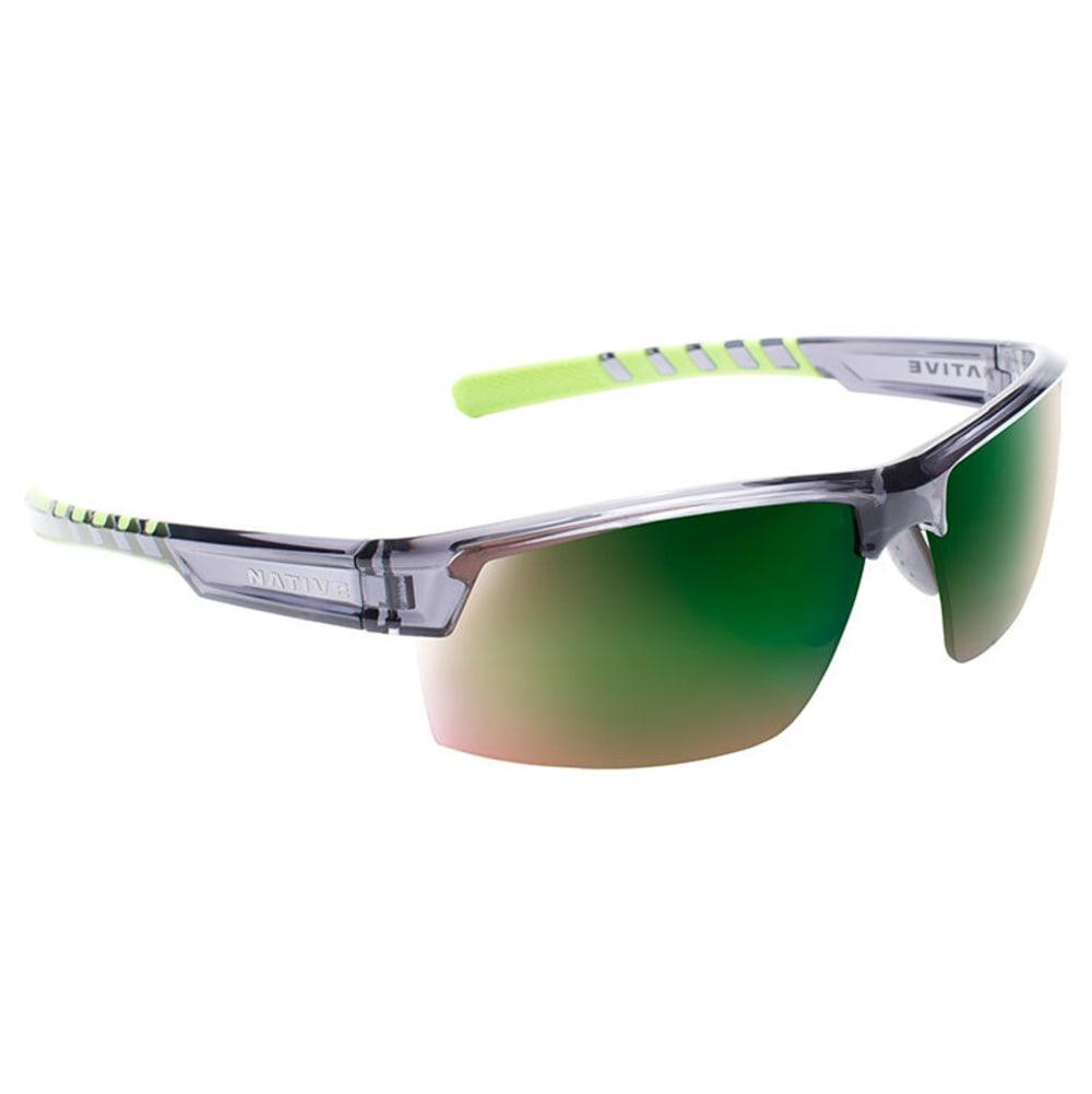 NATIVE EYEWEAR Catamount Sunglasses - DARK CYRSTAL GRAY