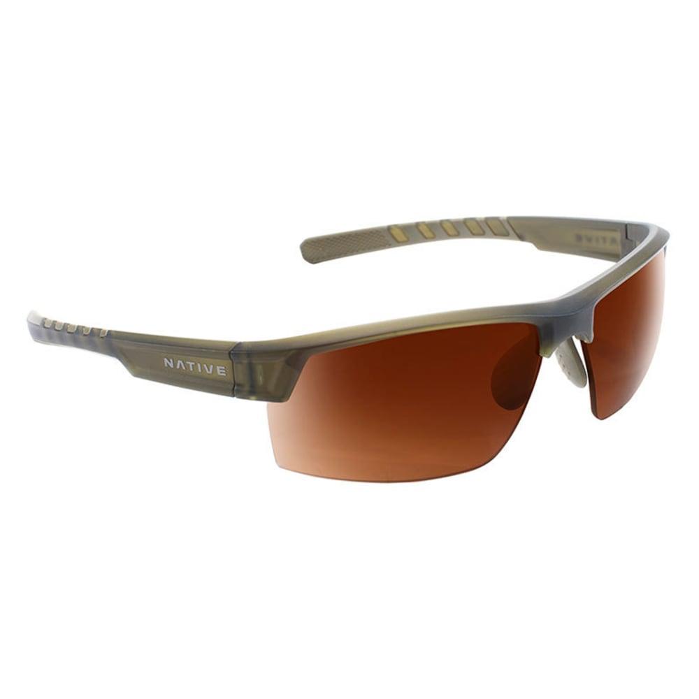 NATIVE EYEWEAR Catamount Sunglasses - MATTE MOSS