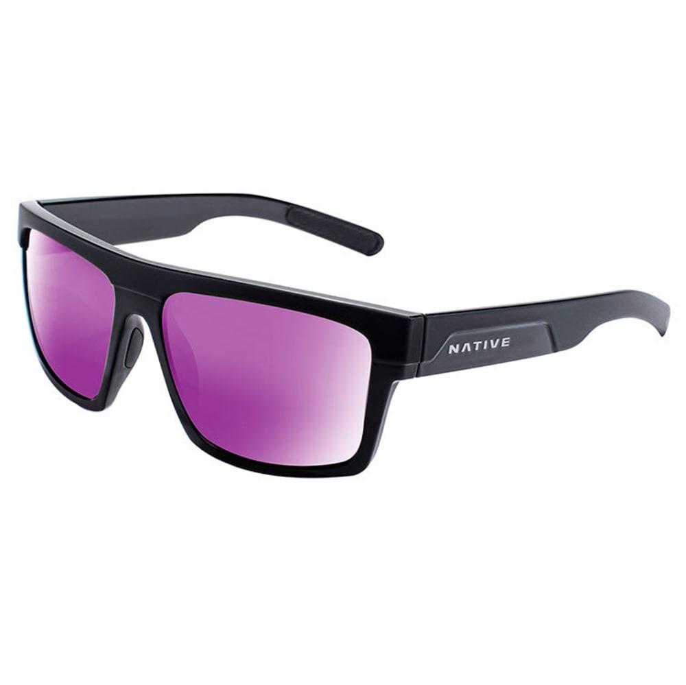 NATIVE EYEWEAR El Jefe Sunglasses - M BLACK/G BLACK