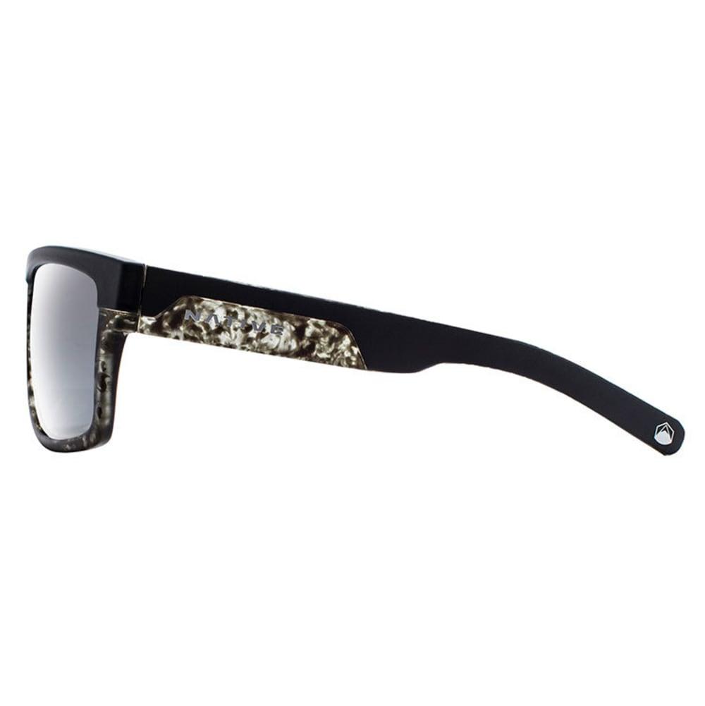 NATIVE EYEWEAR El Jefe Sunglasses - M BLACK/B TORT
