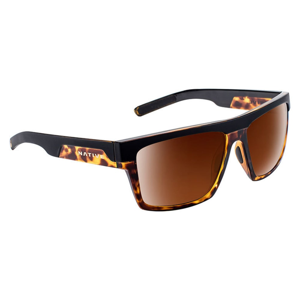 NATIVE EYEWEAR El Jefe Sunglasses - M BLACK/M TORT