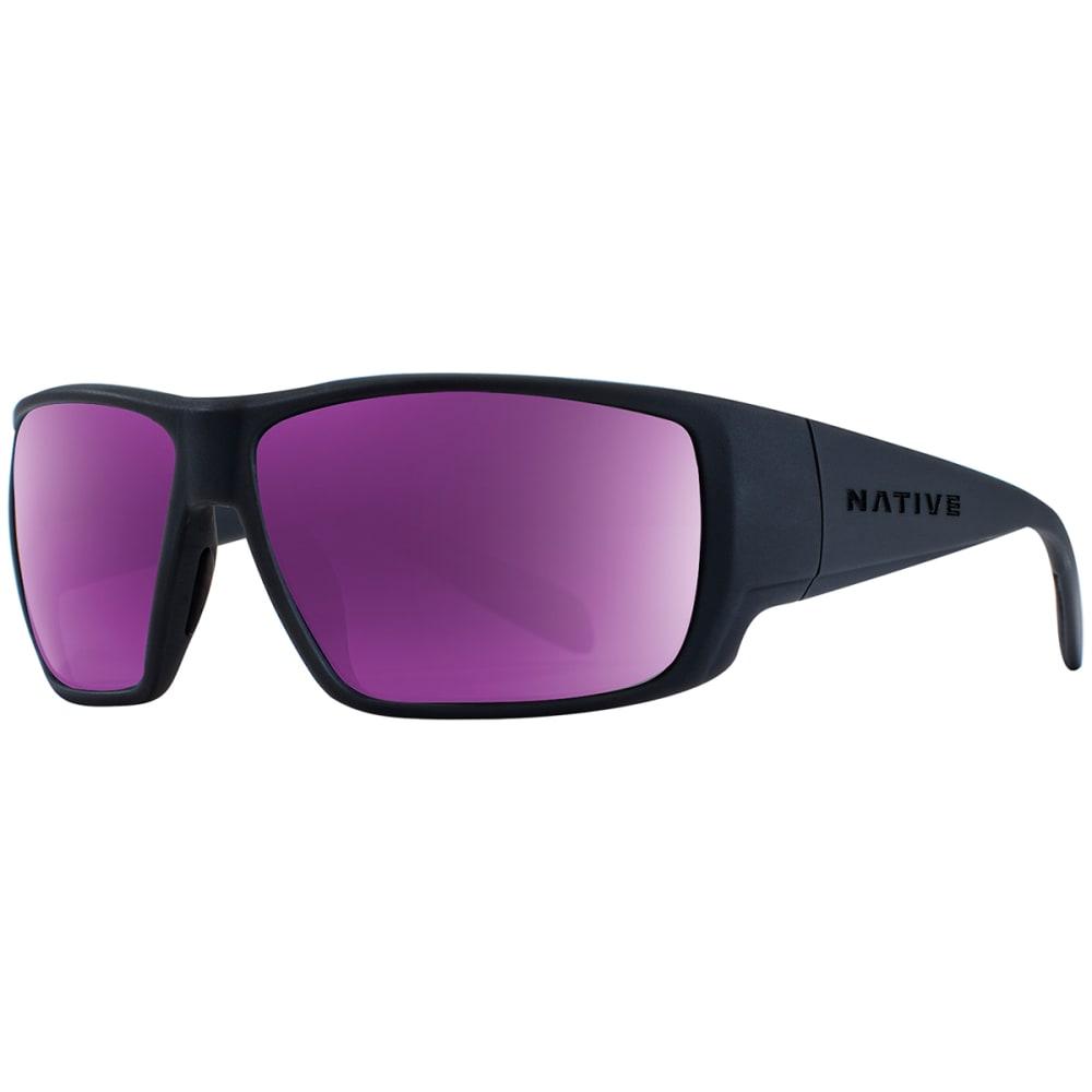 NATIVE EYEWEAR Sightcaster™ Polarized Sunglasses - MATTE BLACK VIOLET