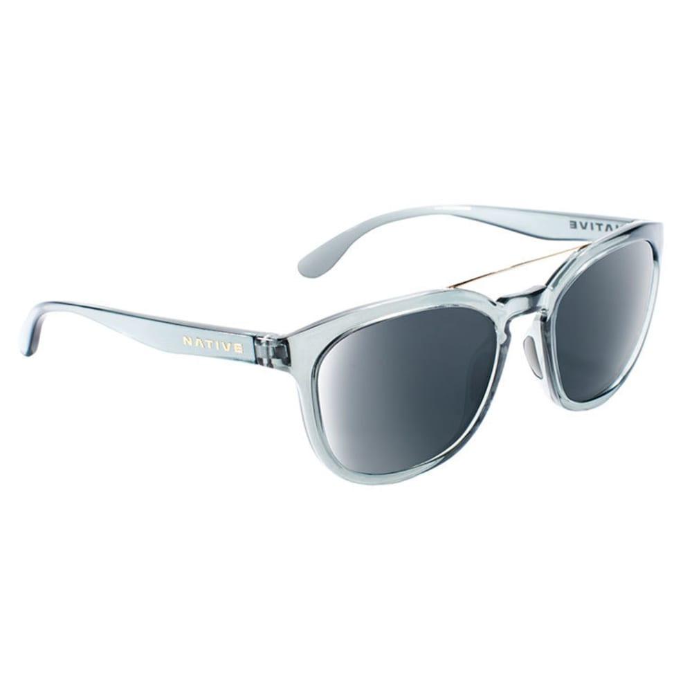 NATIVE EYEWEAR Sixty-Six Sunglasses - DK CRYSTAL GRAY