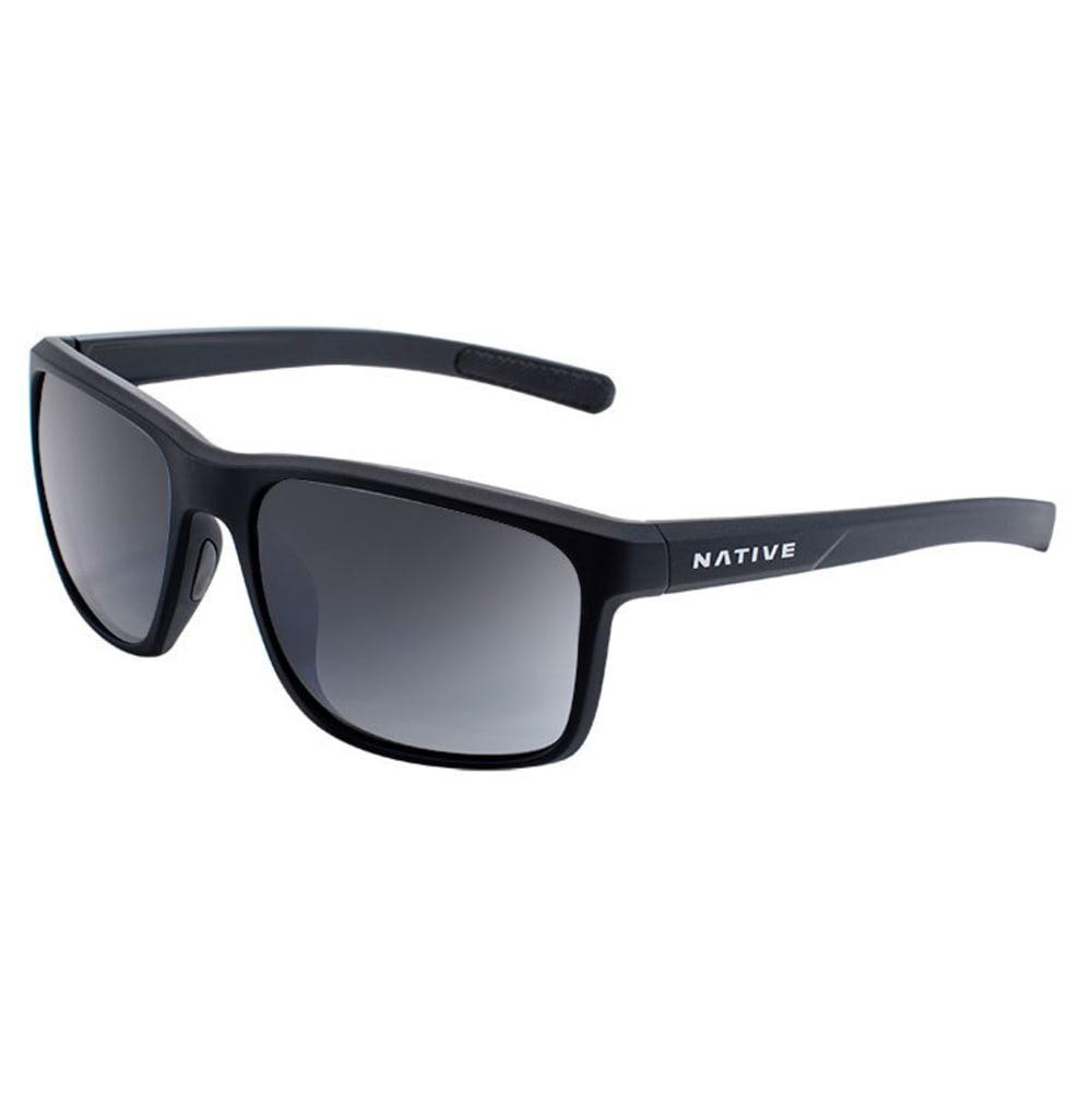 NATIVE EYEWEAR Wells Sunglasses - MATTE BLACK CRYSTAL