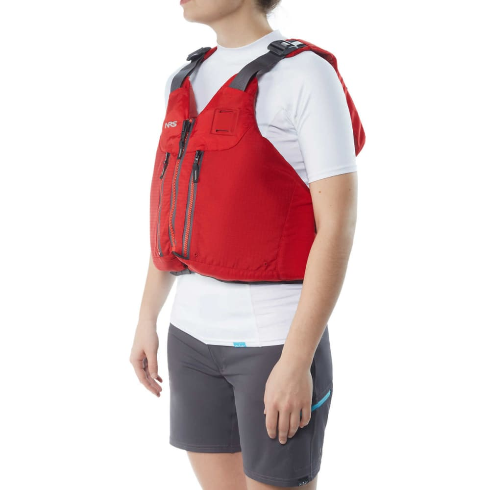 NRS Clearwater Mesh Back PFD - RED