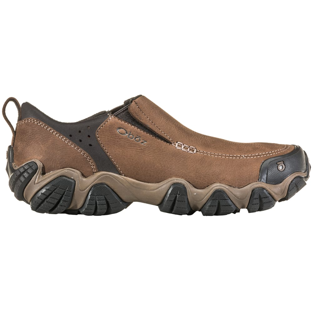 OBOZ Men's Livingston Low Slip-On Outdoor Shoes - WALNUT