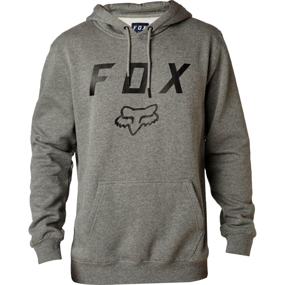 FOX Men's Legacy Moth Pullover Fleece - 185 HEATHER GRPAHITE