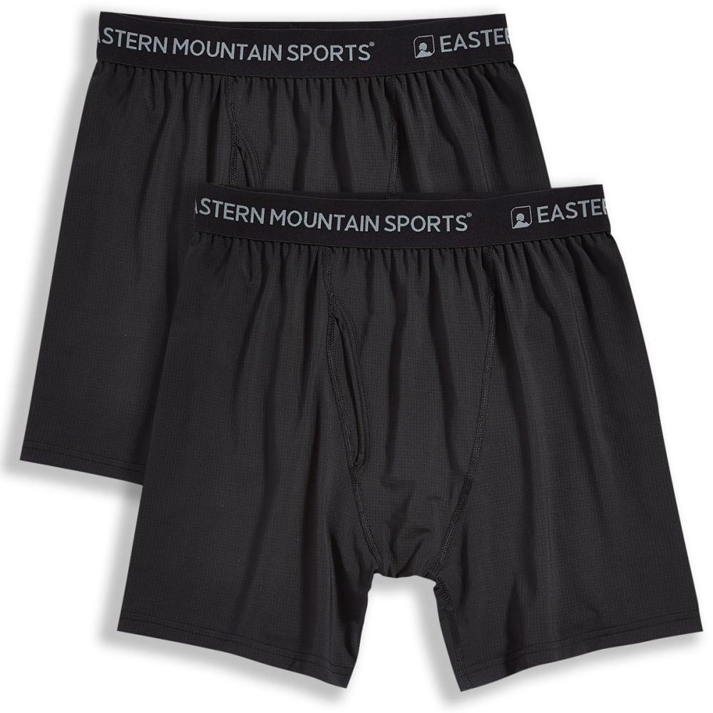 EMS Men's Techwick Boxer Briefs, 2-Pack S