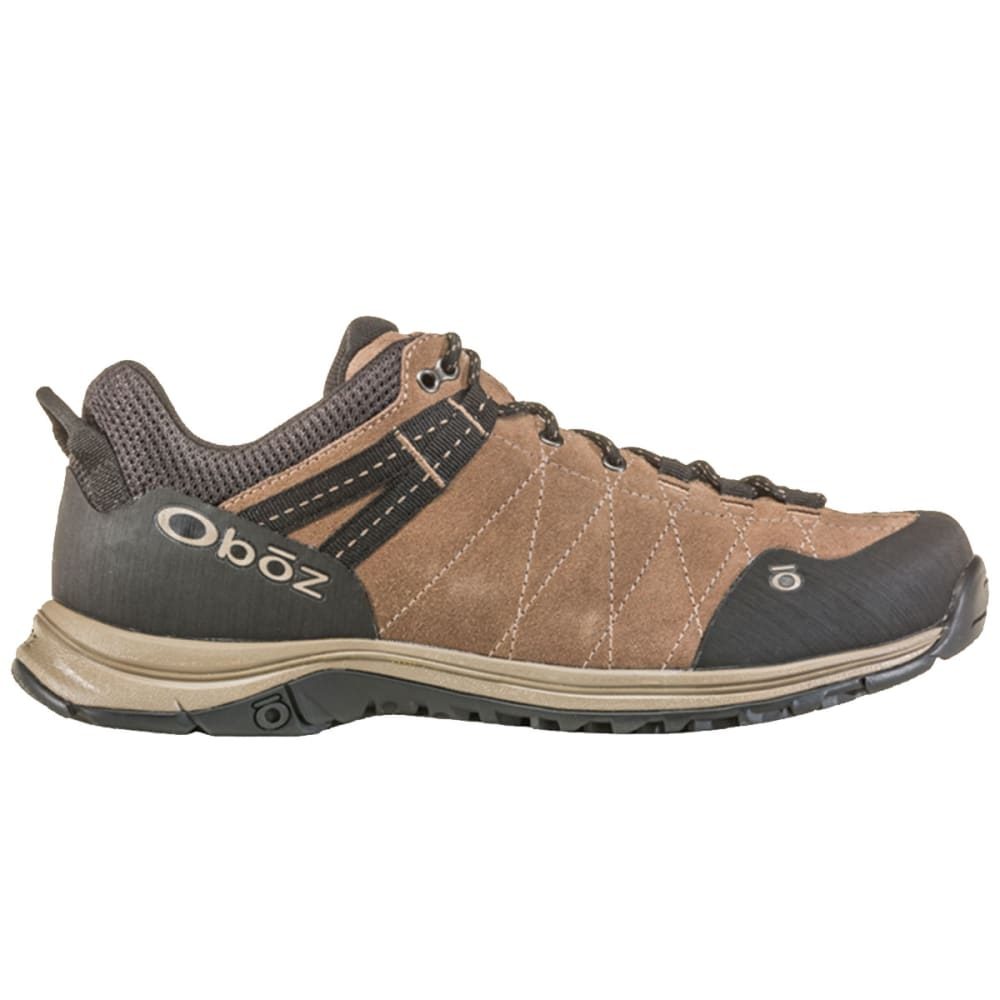 OBOZ Men's Hyalite Low Waterproof Hiking Shoes - WALNUT