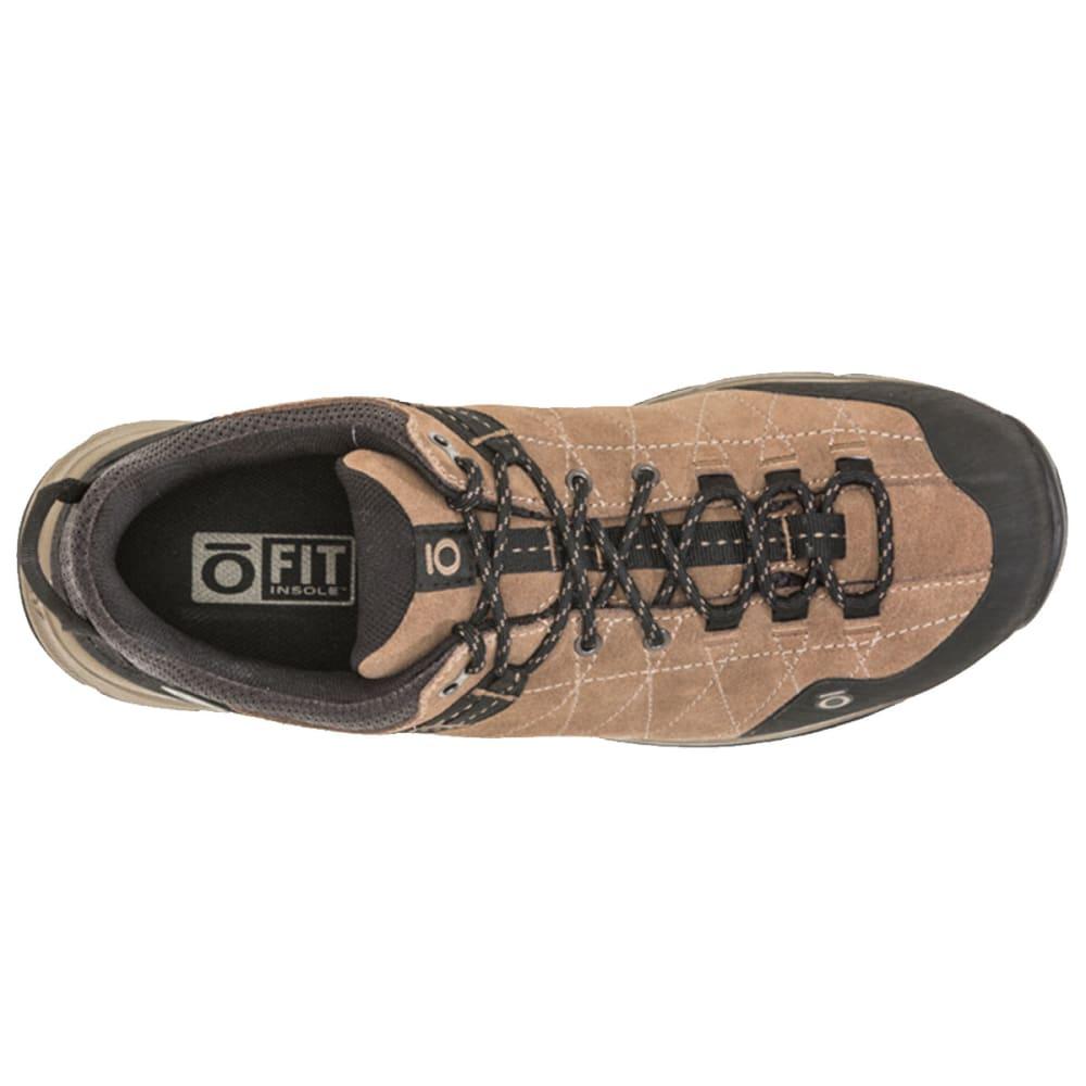 OBOZ Men's Hyalite Low Waterproof Hiking Shoes - WALNUT