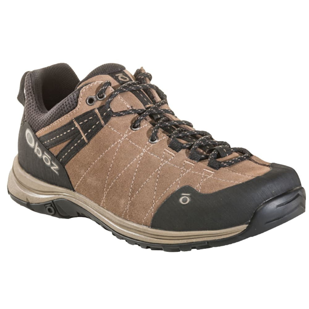 OBOZ Men's Hyalite Low Hiking Shoes - WALNUT