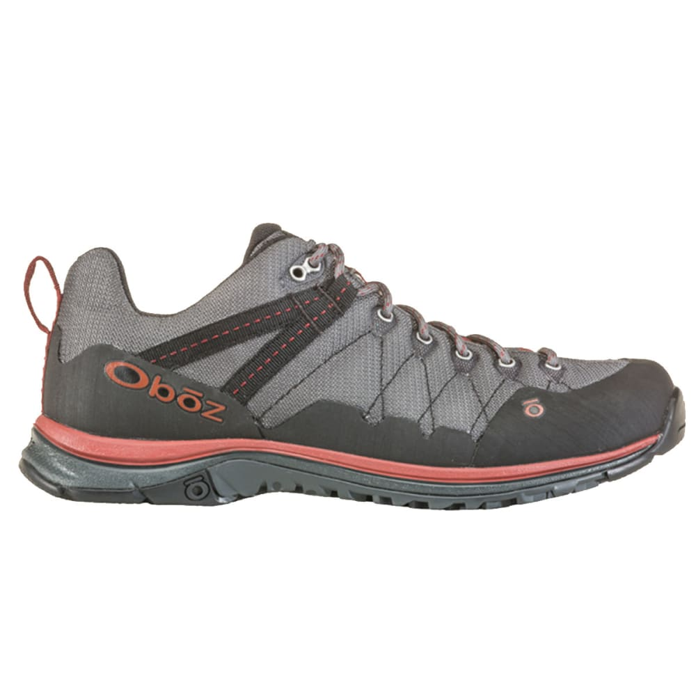 OBOZ Men's M-Trail Low Hiking Shoes - DK SHADOW/RUSSET