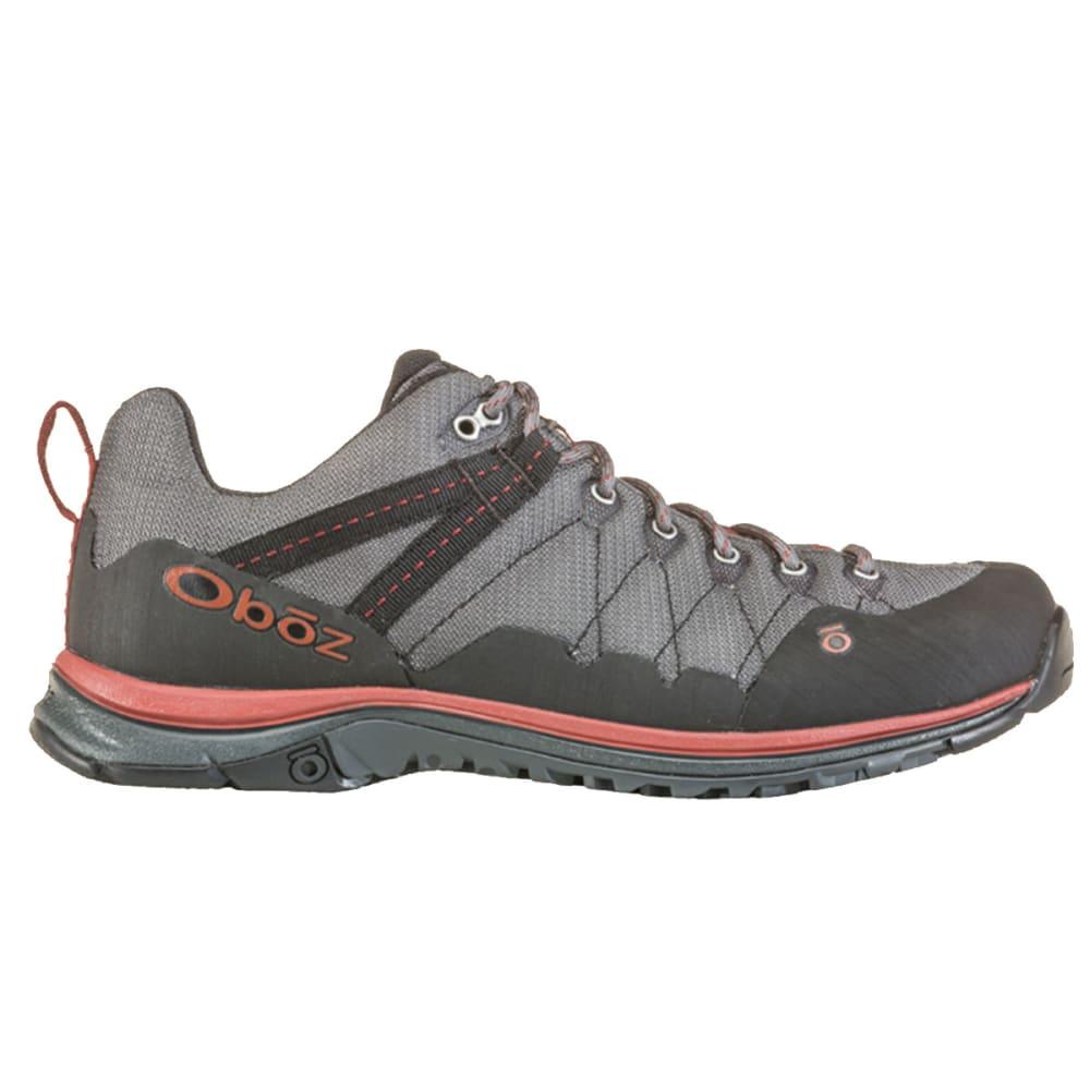 OBOZ Men's M-Trail Low Hiking Shoes - DK SHADOW/RUSSET