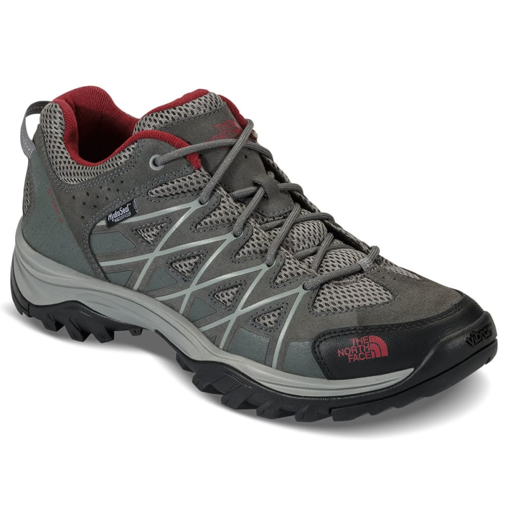 THE NORTH FACE Men's Storm III Low Waterproof Hiking Shoes - GRAPHITE/BLKRED