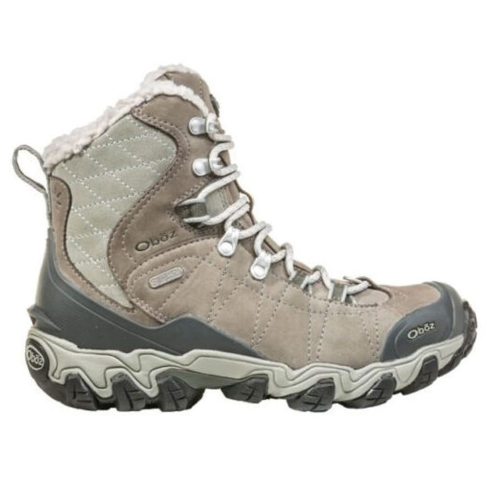OBOZ Women's Bridger Insulated BDry Hiking Boots - GRAY/SAGE
