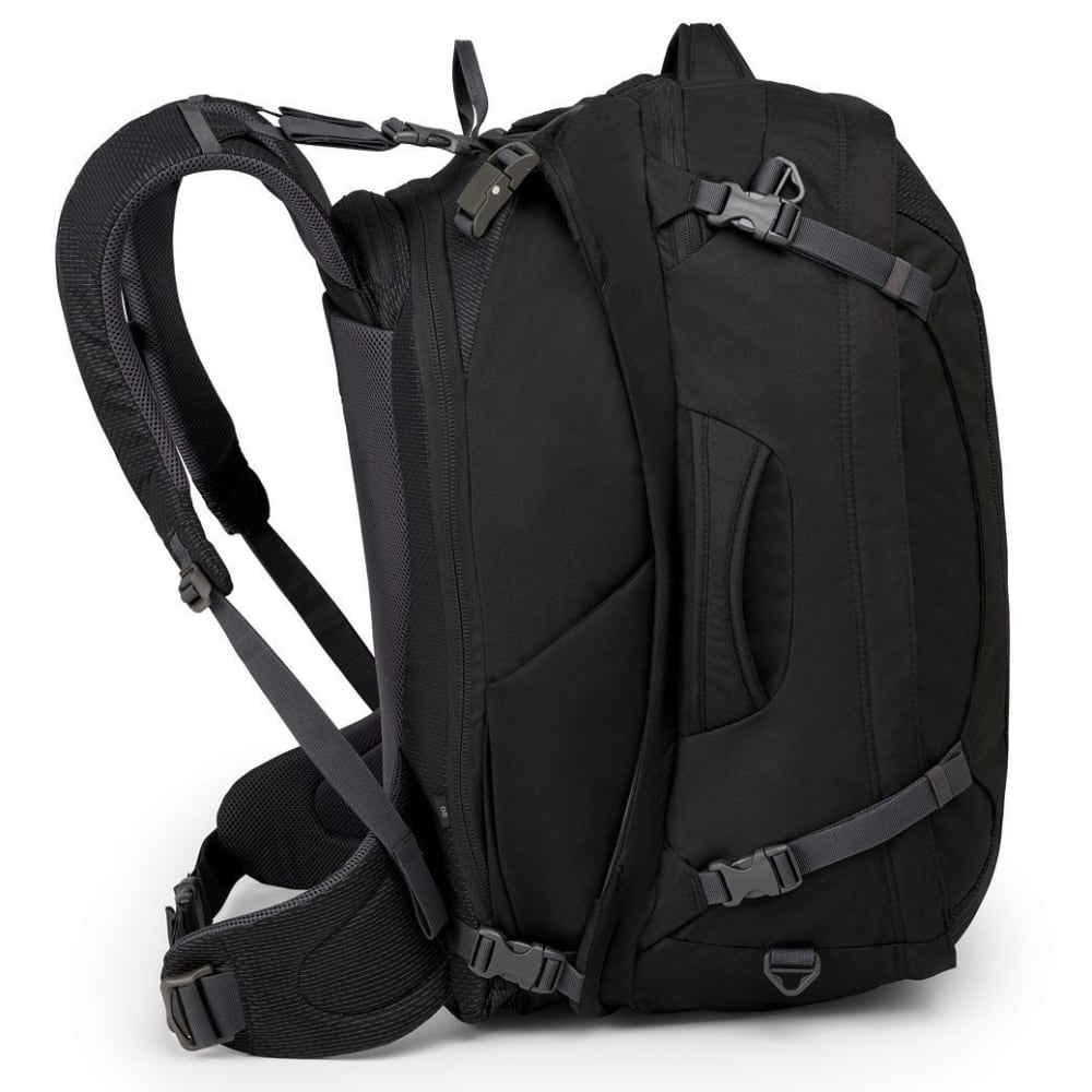 OSPREY Men's Ozone Duplex 65 Travel Pack - BLACK