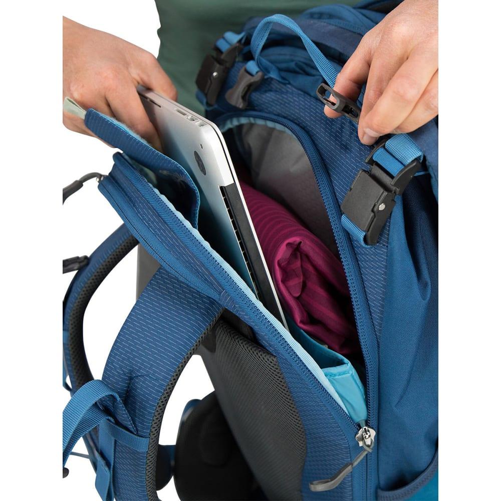 OSPREY Women's Ozone Duplex 60 Travel Pack - BUOYANT BLUE