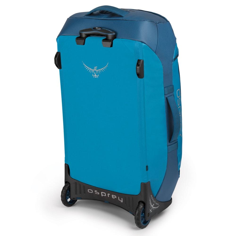 OSPREY 90L Transporter Wheeled Duffel - KINGFISHER BLUE