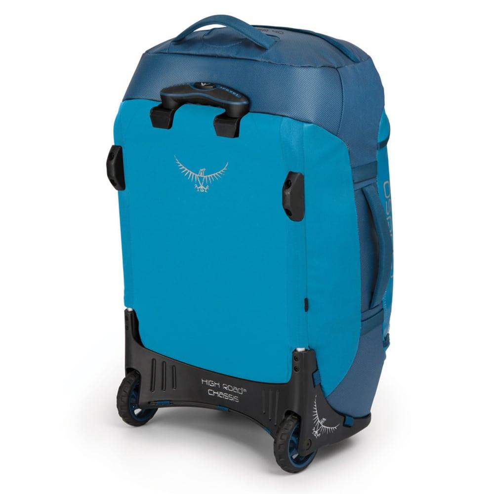 OSPREY 40L Transporter Wheeled Duffel - KINGFISHER BLUE